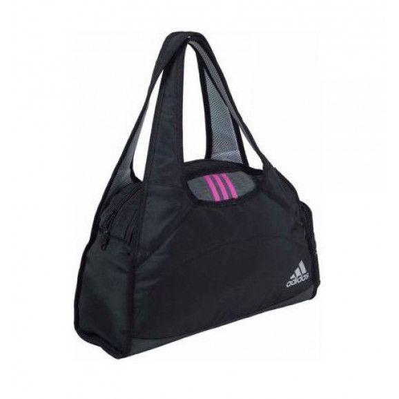 Bolsa Adidas Beach Weekend Bag G 1.9 - Preta com Cinza