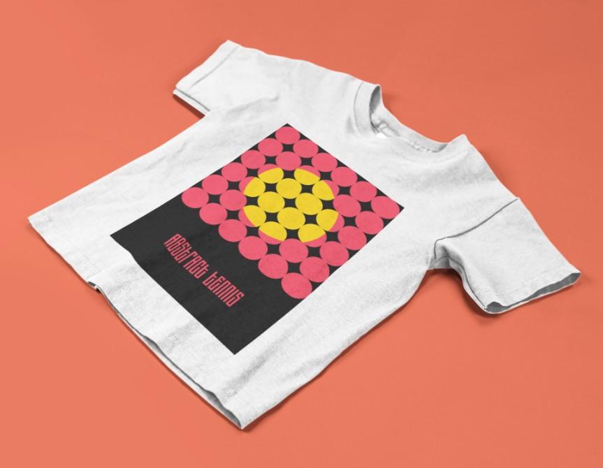 Camiseta ABSTRACT TENNIS (v1) >>  2 a 14 anos