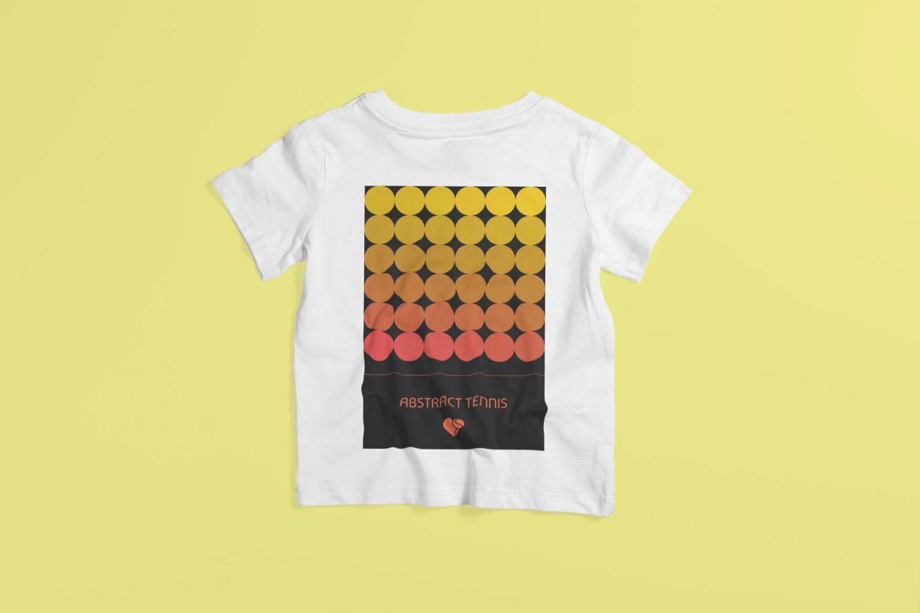 Camiseta ABSTRACT TENNIS (v2) >>  2 a 14 anos