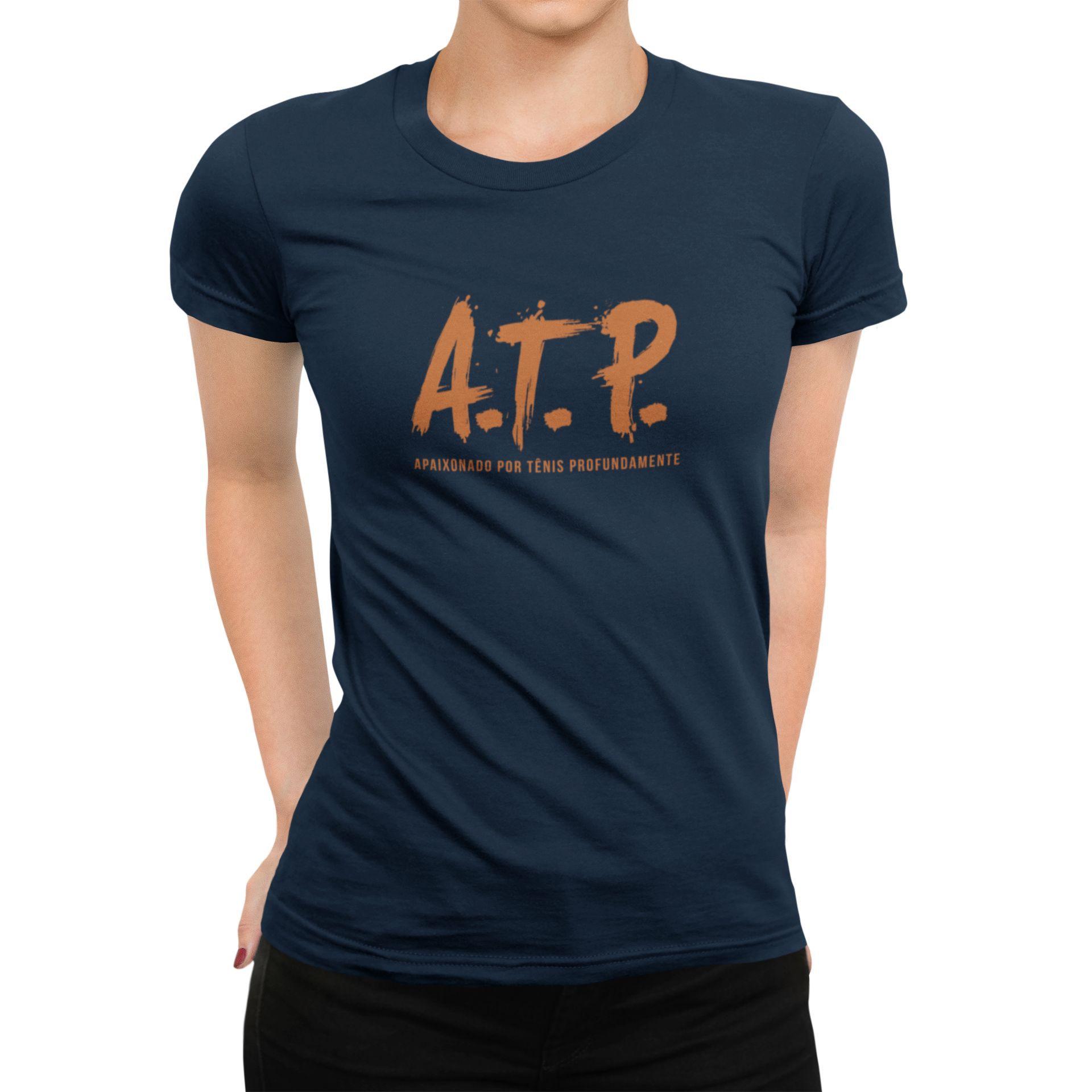 Camiseta ATP (APAIXONADO POR TÊNIS PROFUNDAMENTE) >> Coleção 2019 >> FEMININA