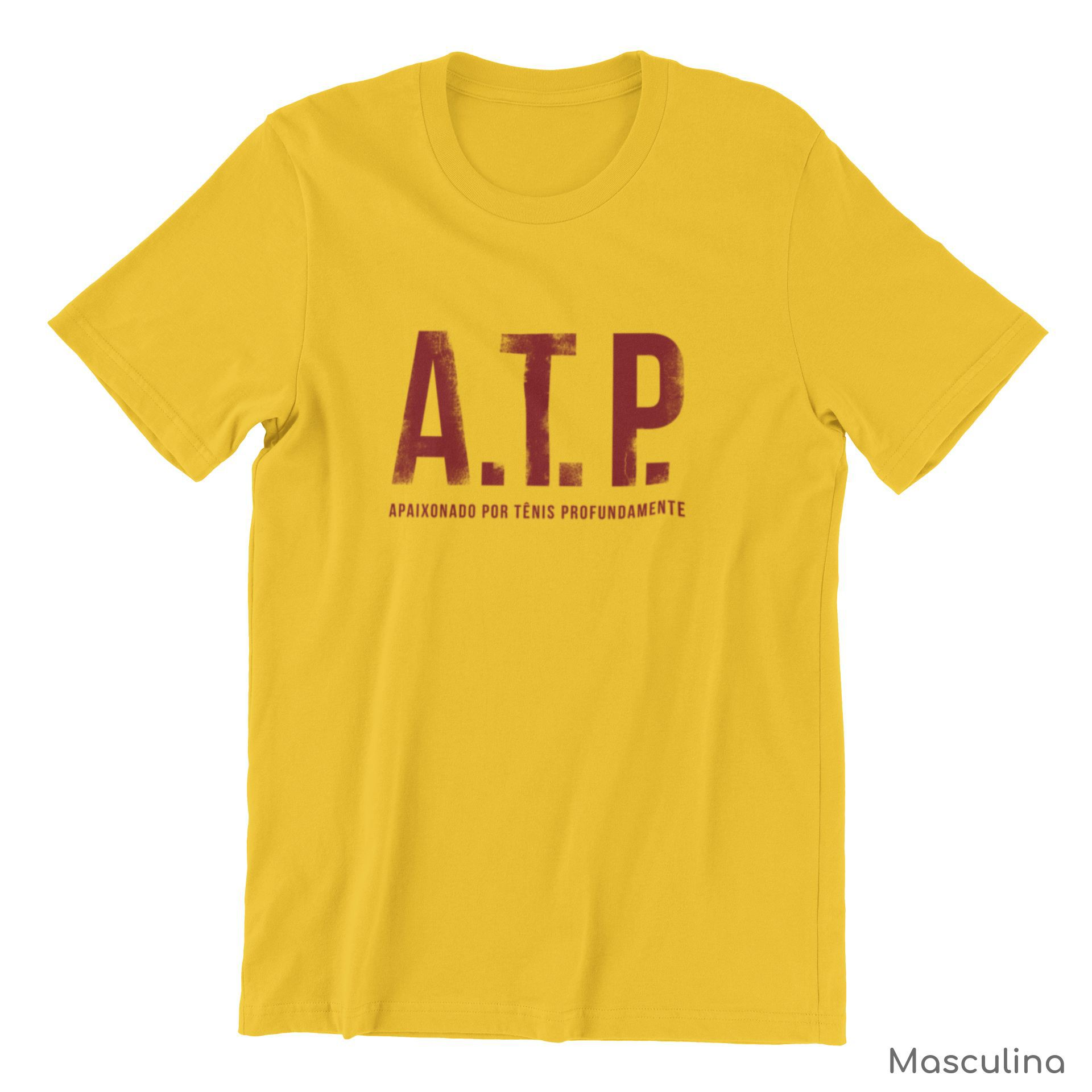 Camiseta ATP (APAIXONADO POR TÊNIS PROFUNDAMENTE) >> Coleção 2019 >> MASCULINA