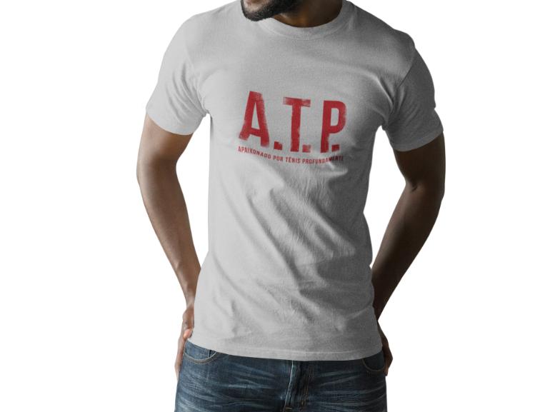 Camiseta ATP (APAIXONADO POR TÊNIS PROFUNDAMENTE) >> MASCULINA