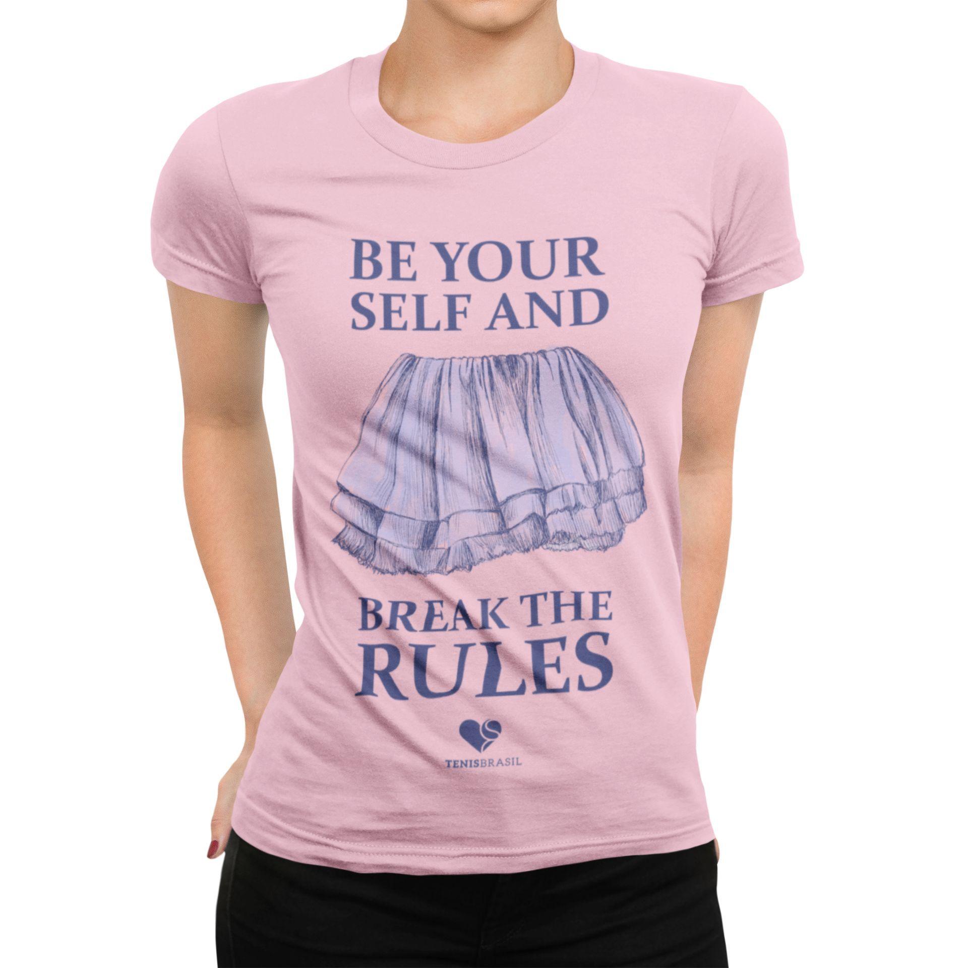 Camiseta BREAK THE RULES >> Coleção 2019 >> FEMININA