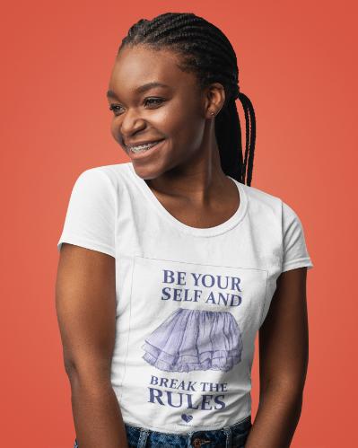 Camiseta BREAK THE RULES >> FEMININA