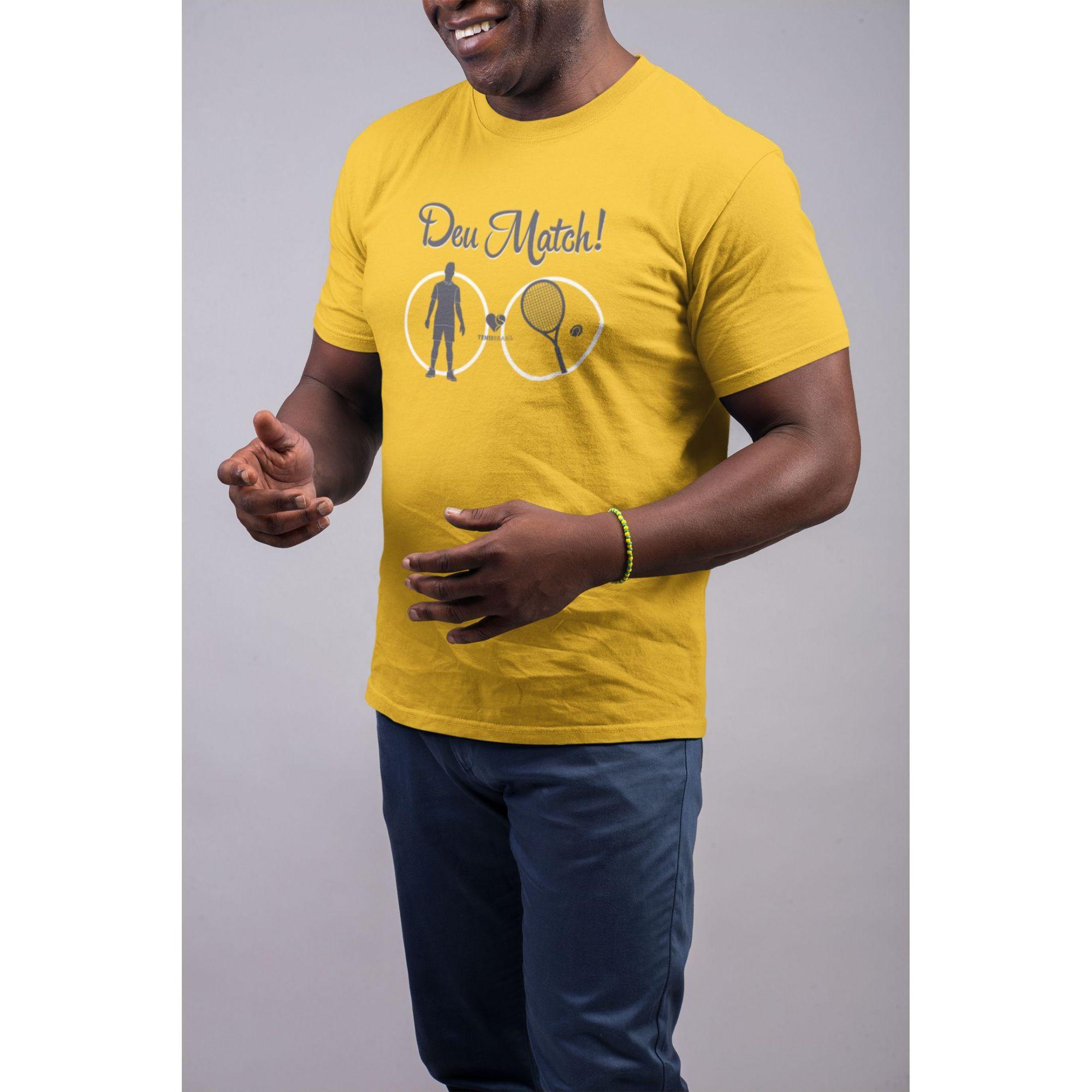 Camiseta DEU MATCH! >> Coleção 2019 >> MASCULINA