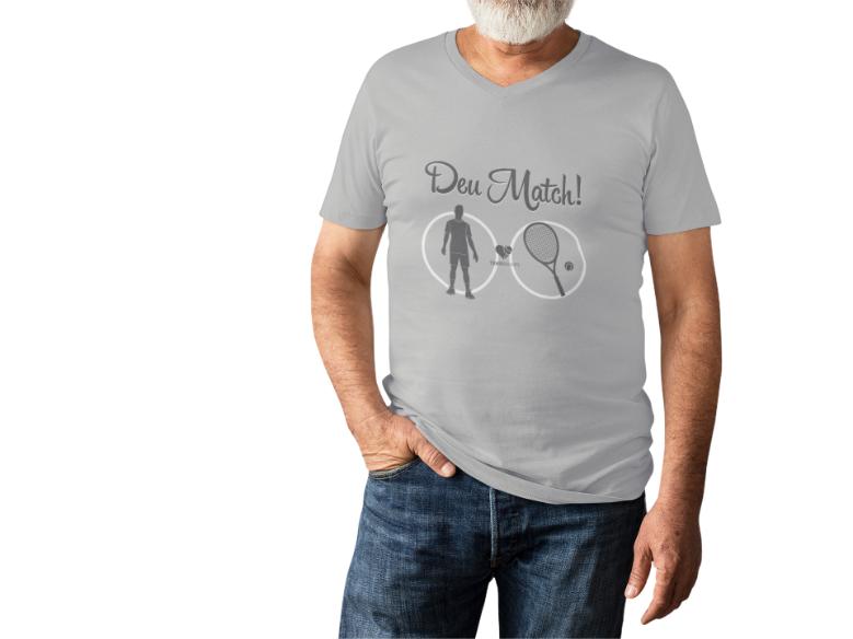 Camiseta DEU MATCH! >>  MASCULINA