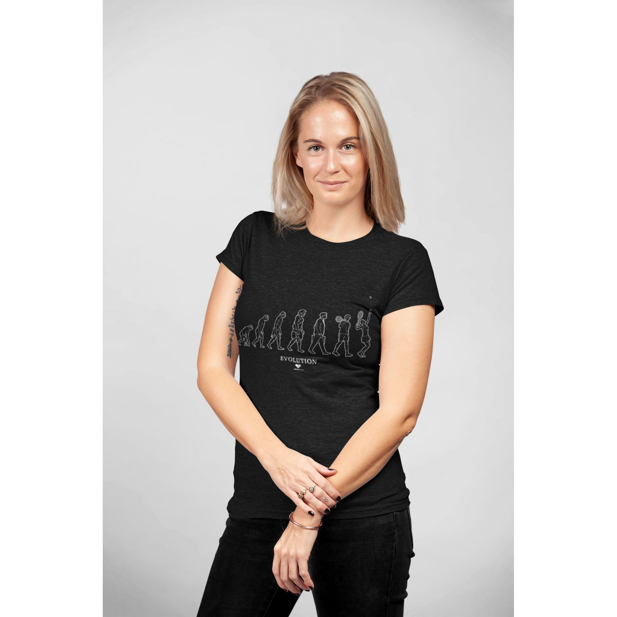 Camiseta EVOLUTION  >> FEMININA
