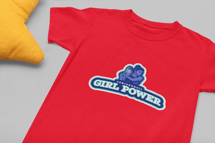 Camiseta GIRL POWER >>  2 a 14 anos
