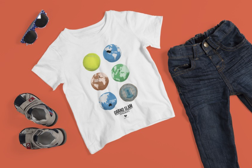 Camiseta GLOBES >>  2 a 14 anos