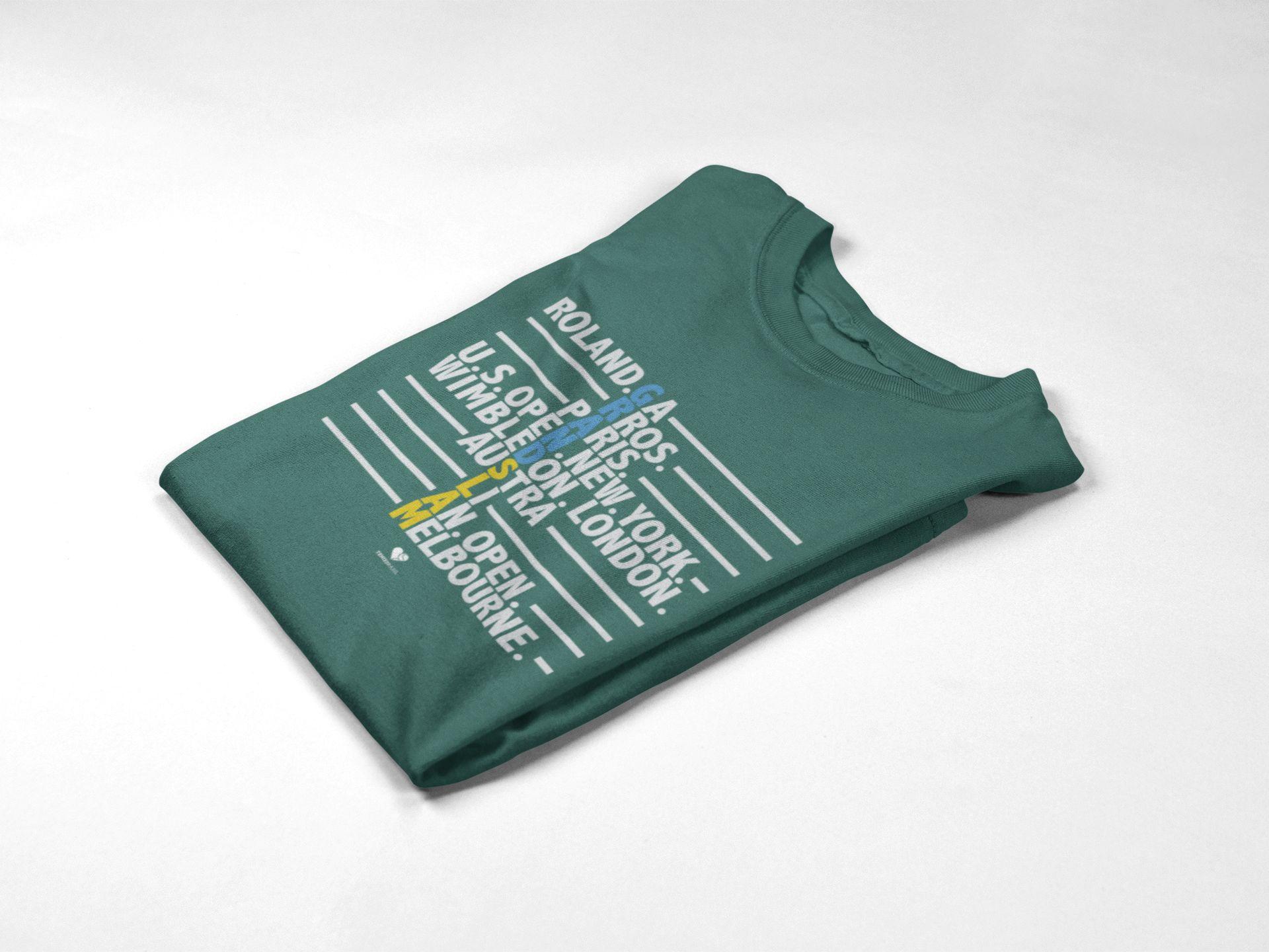 Camiseta GRAND SLAM ALL TYPE >> Coleção 2019 >> MASCULINA