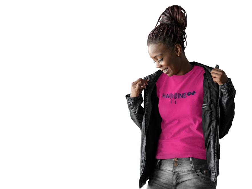 Camiseta HAPPINESS >> FEMININA