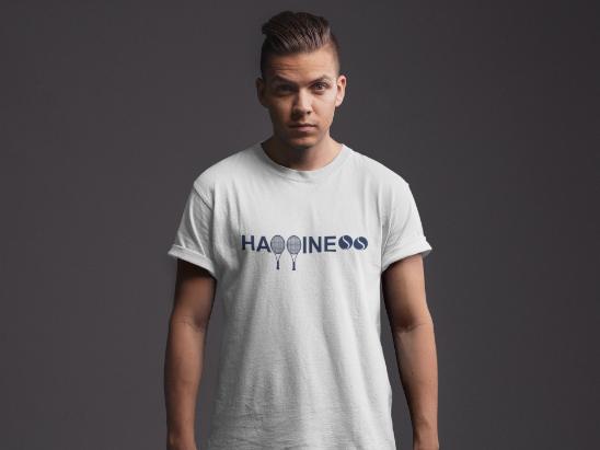 Camiseta HAPPINESS  >> MASCULINA