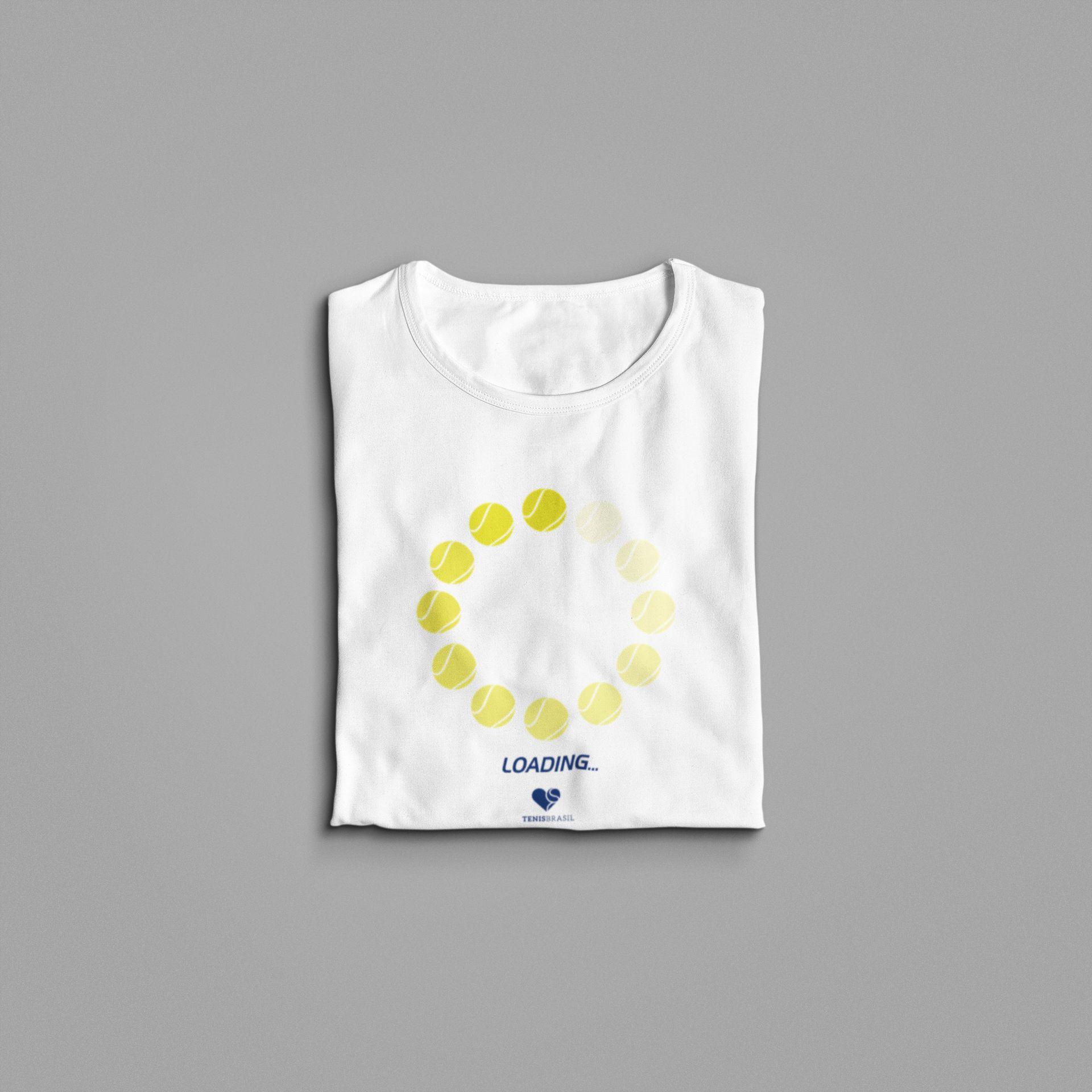 Camiseta LOADING - CÍRCULO  >> Coleção 2019 >> FEMININA