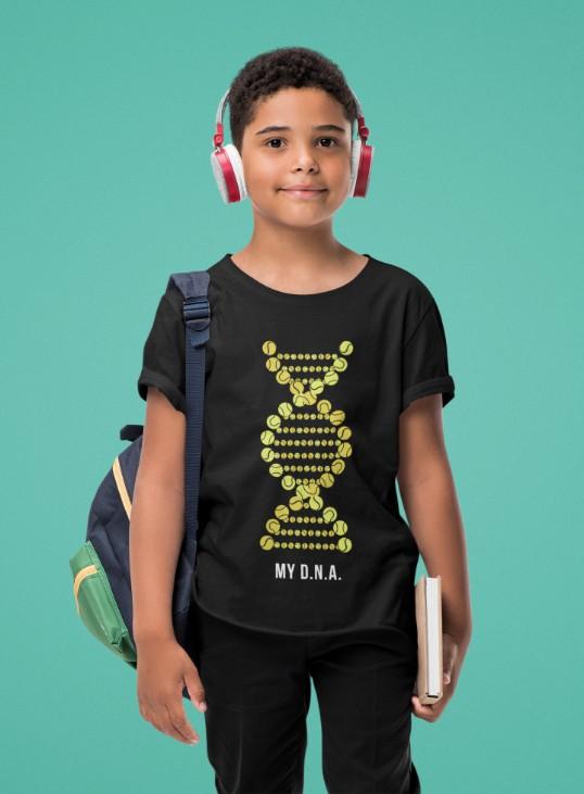 Camiseta MY DNA  >>  2 a 14 anos