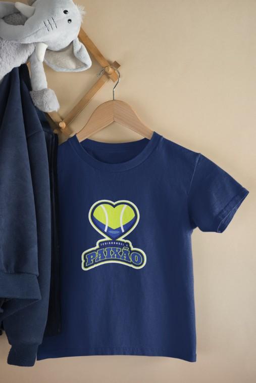 Camiseta PAIXÃO  >>  2 a 14 anos