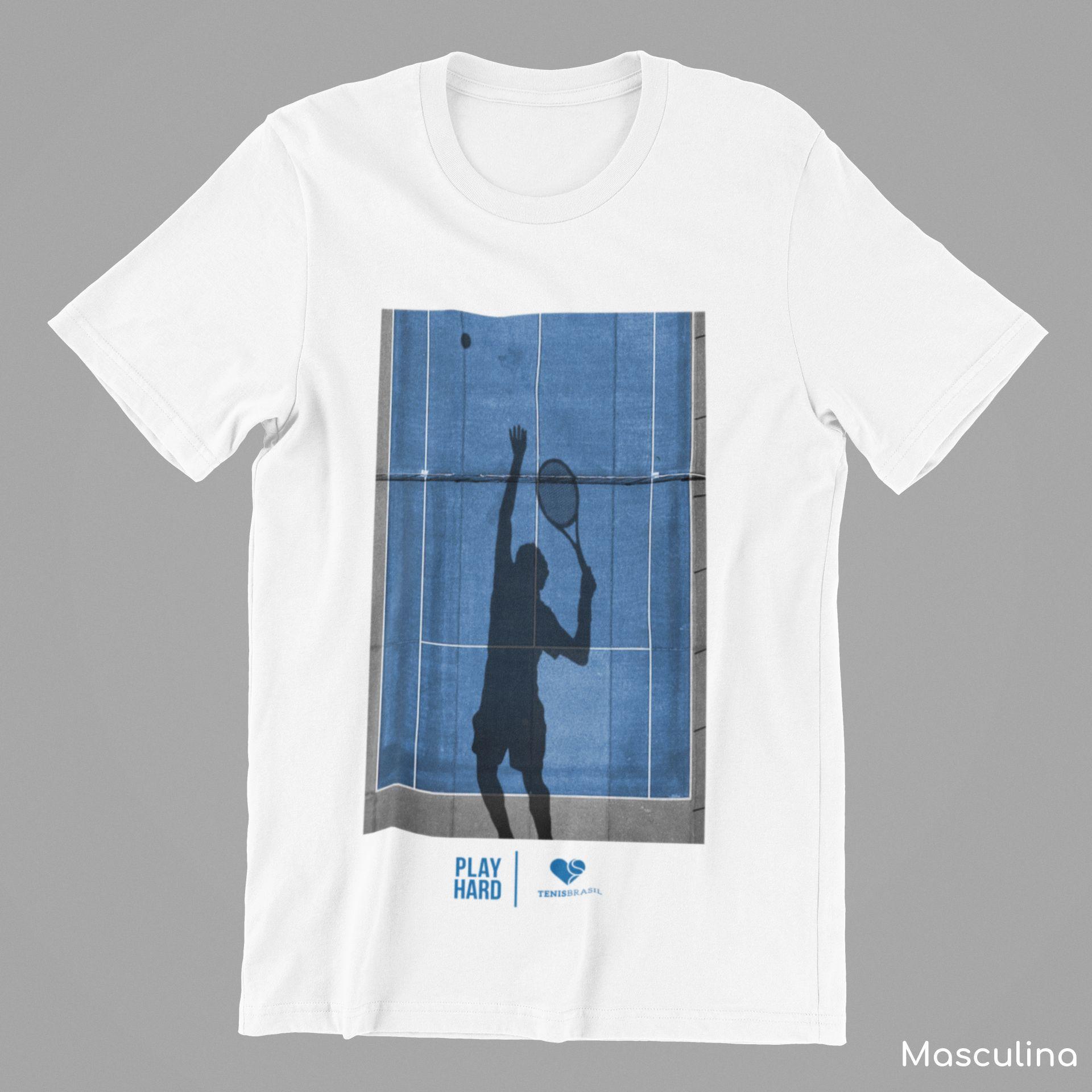 Camiseta PLAY HARD  >> Coleção 2019 >> MASCULINA