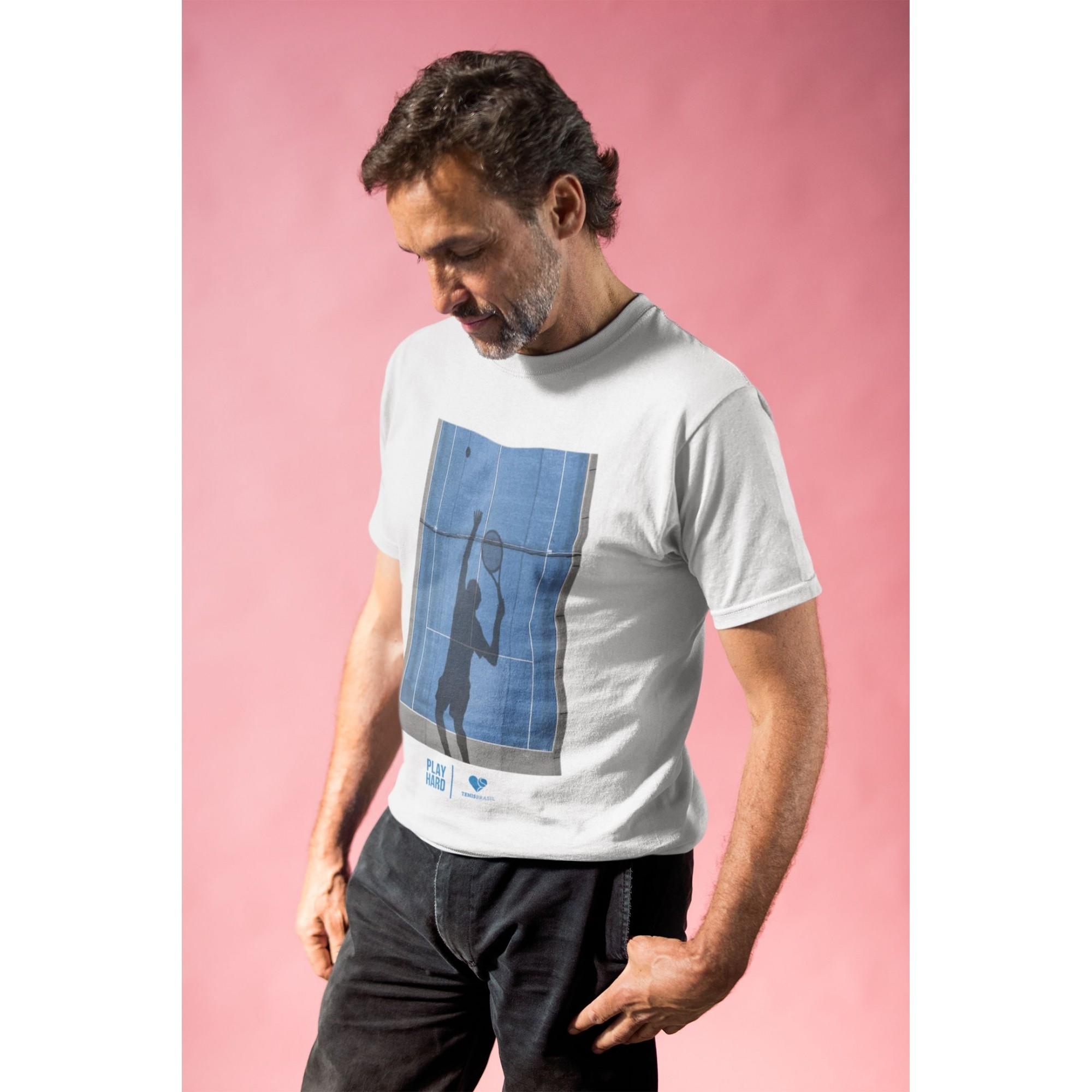 Camiseta PLAY HARD  >> MASCULINA