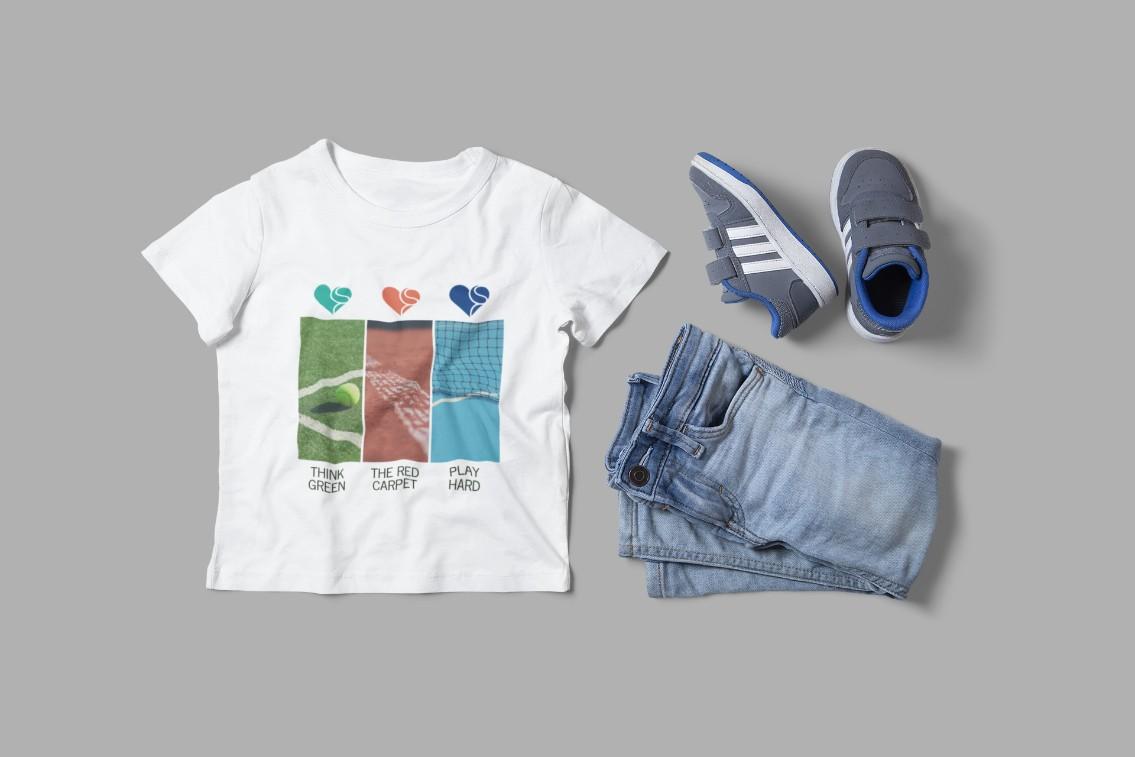 Camiseta QUADRAS  >>  2 a 14 anos