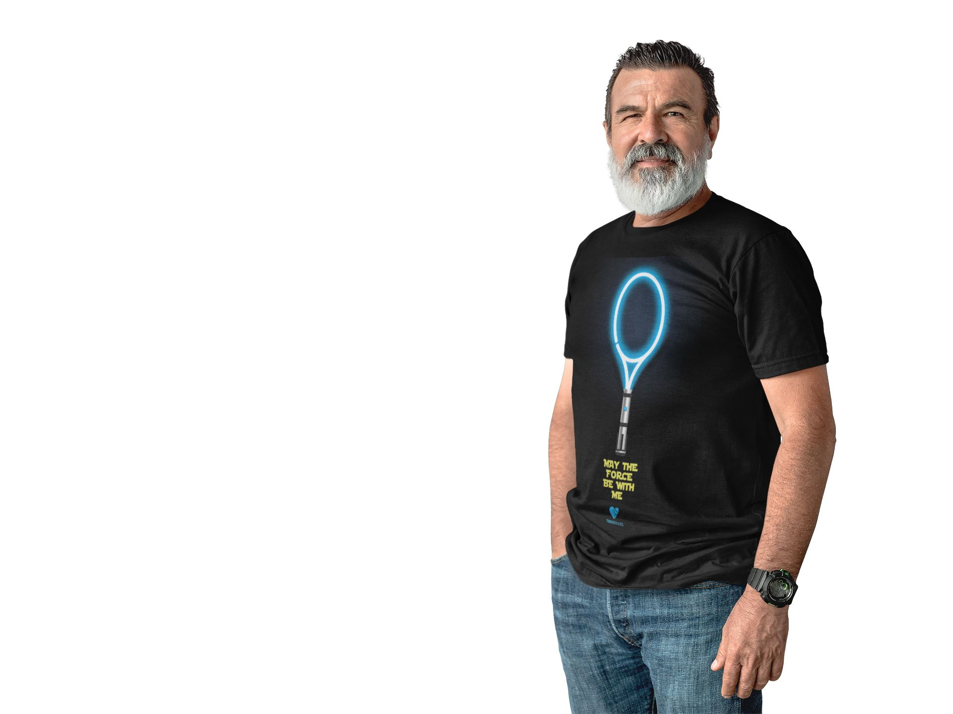 Camiseta RAQUETE SABRE DE LUZ  >>  MASCULINA