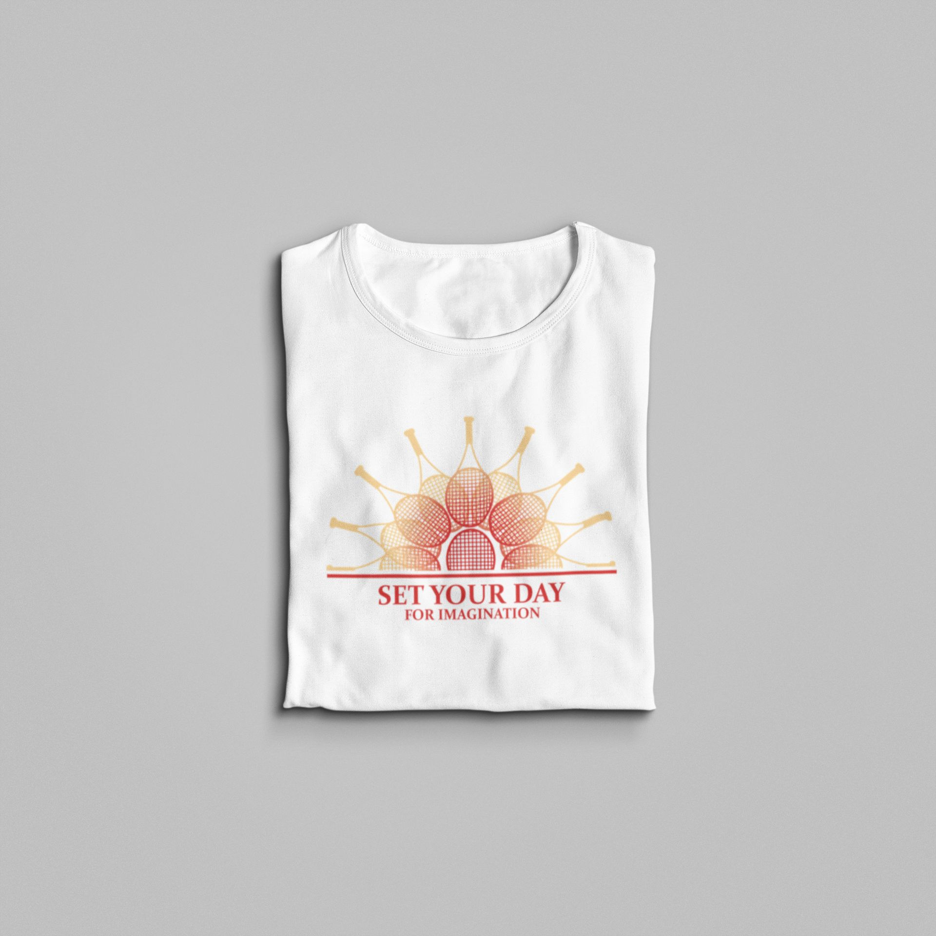 Camiseta SET YOUR DAY  FOR IMAGINATION >> FEMININA