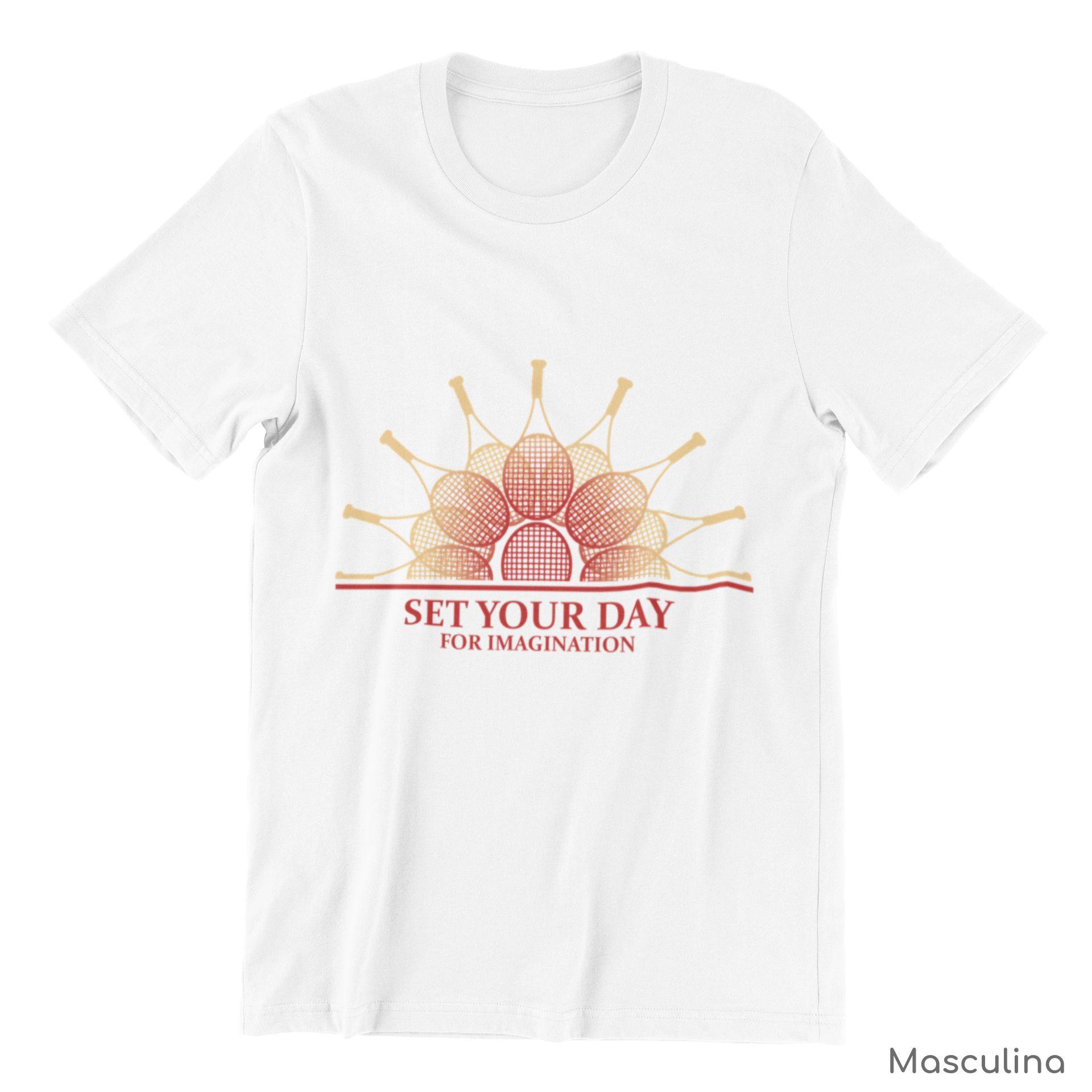 Camiseta SET YOUR DAY FOR IMAGINATION  >> MASCULINA