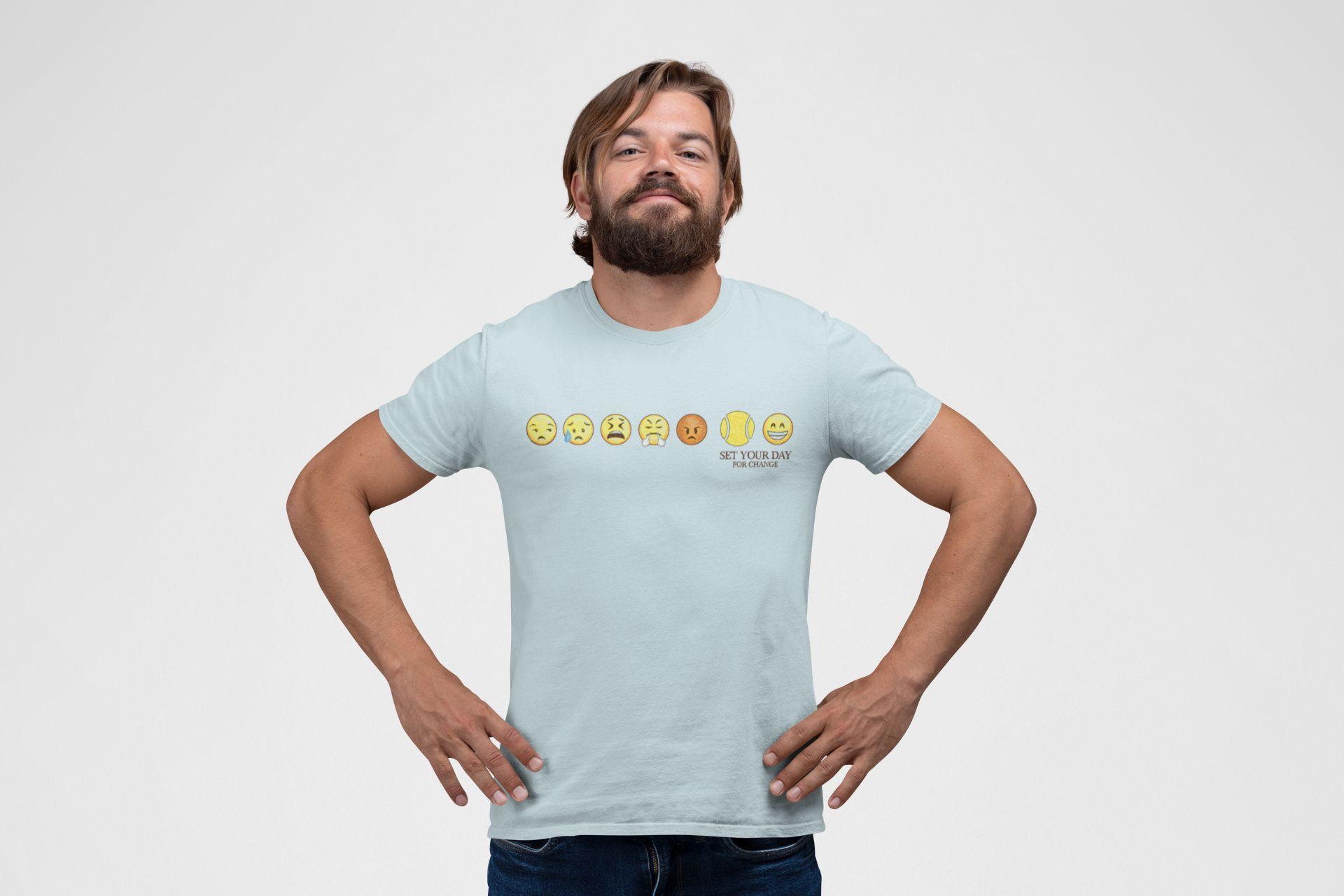 Camiseta SET YOUR DAY - FOR CHANGE  >> Coleção 2019 >> MASCULINA