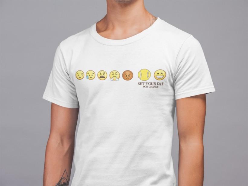 Camiseta SET YOUR DAY FOR CHANGE  >> MASCULINA