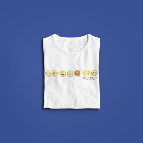 Camiseta SET YOUR DAY FOR CHANGE >> FEMININA