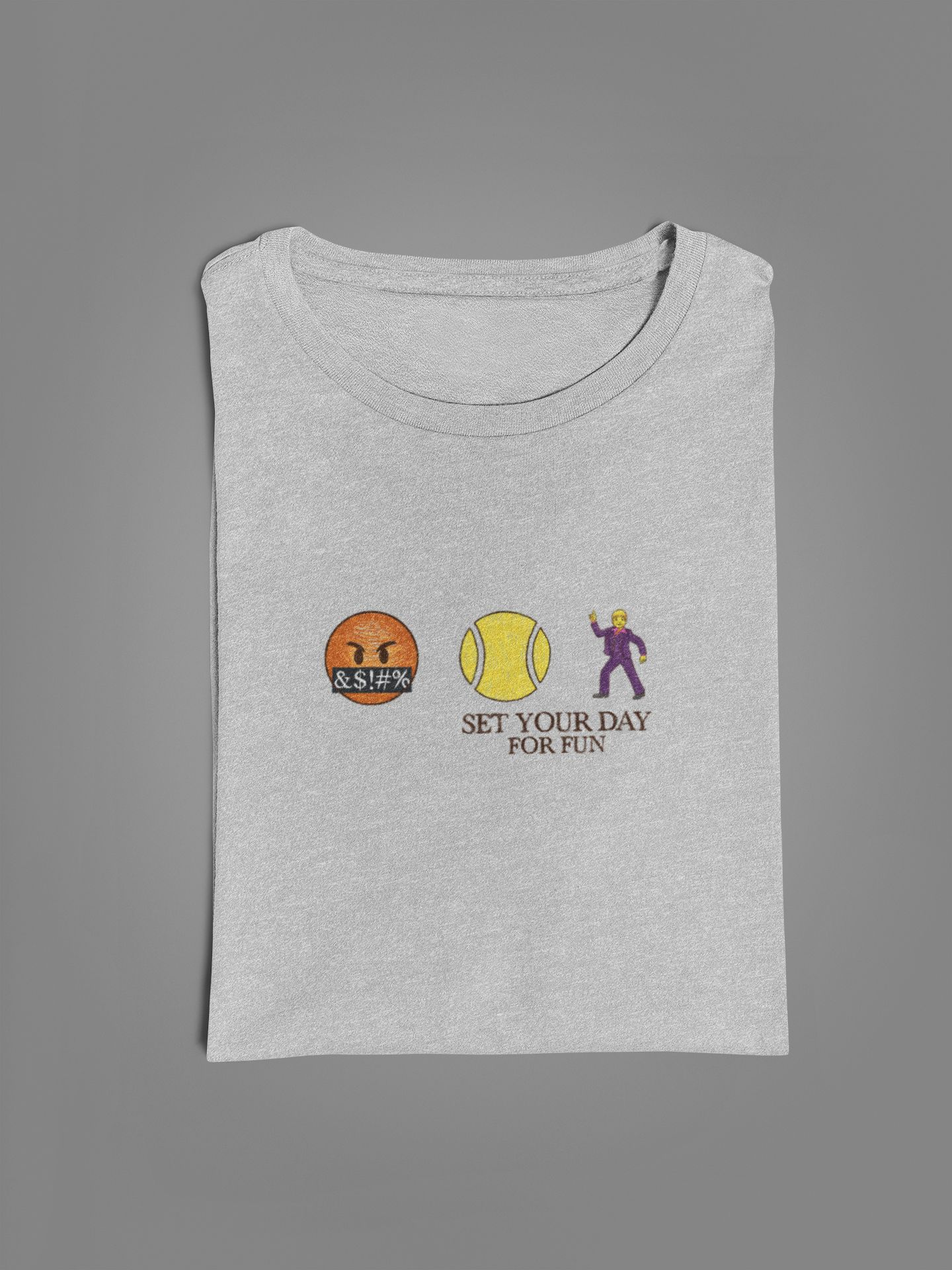 Camiseta SET YOUR DAY - FOR FUN  >> Coleção 2019 >> MASCULINA
