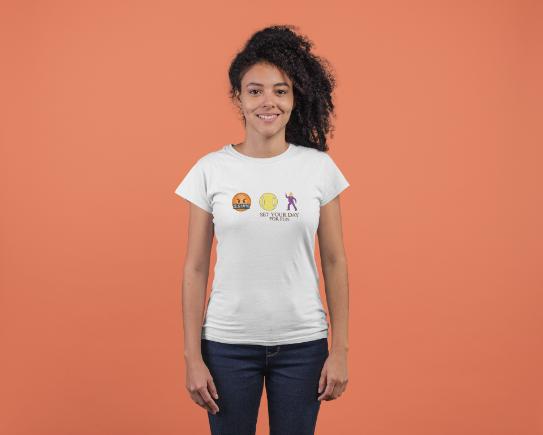Camiseta SET YOUR DAY FOR FUN  >> FEMININA