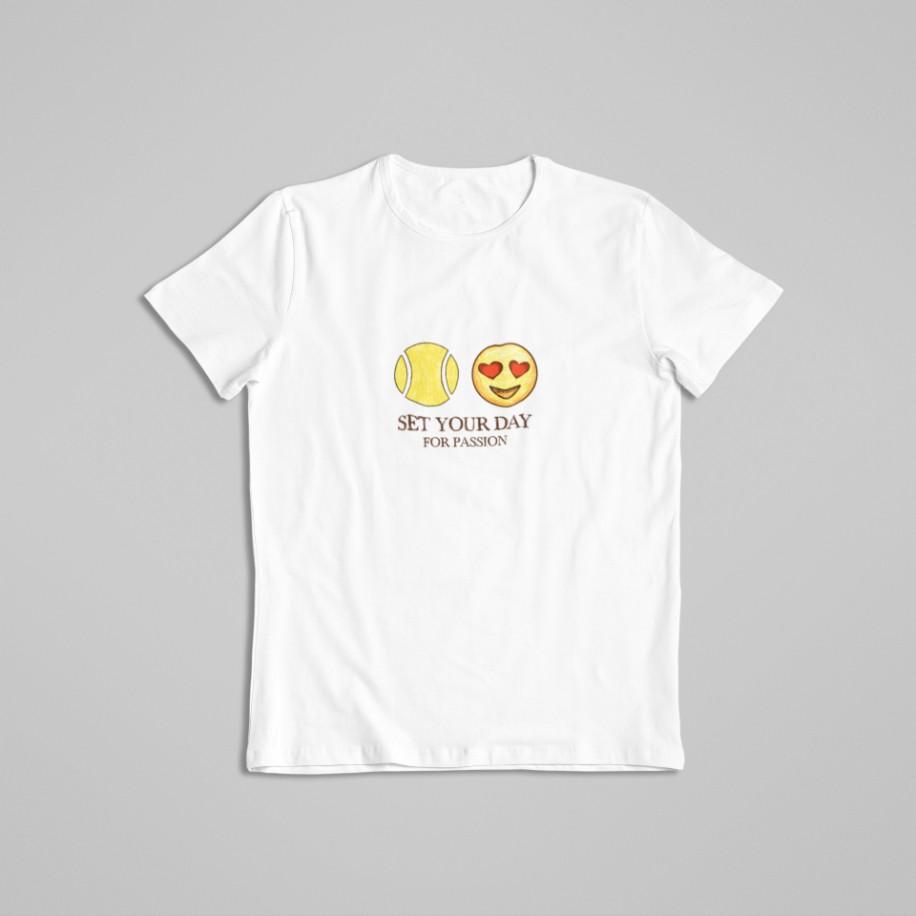 Camiseta SET YOUR DAY FOR PASSION  >> FEMININA