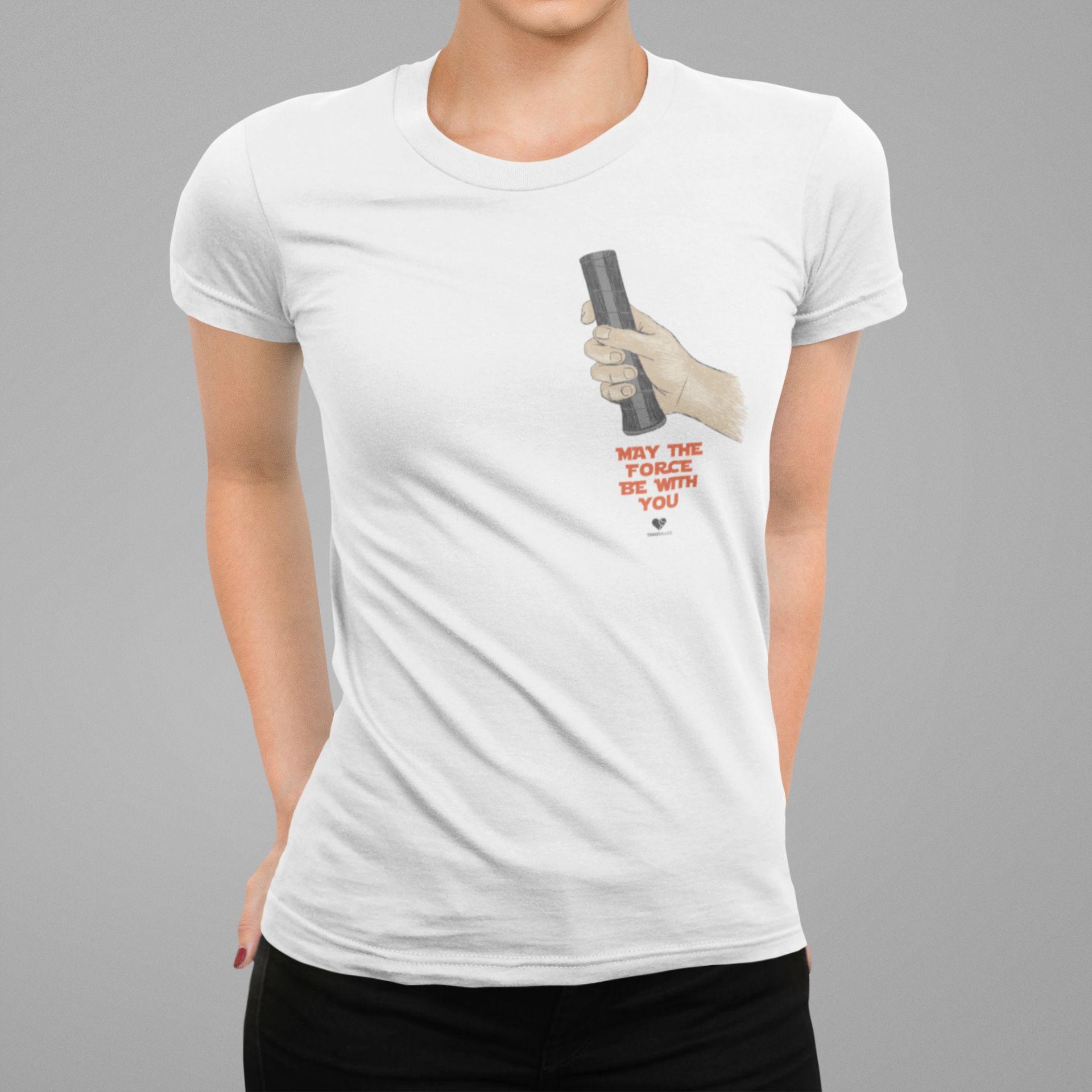 Camiseta THE FORCE  >> Coleção 2019 >> FEMININA