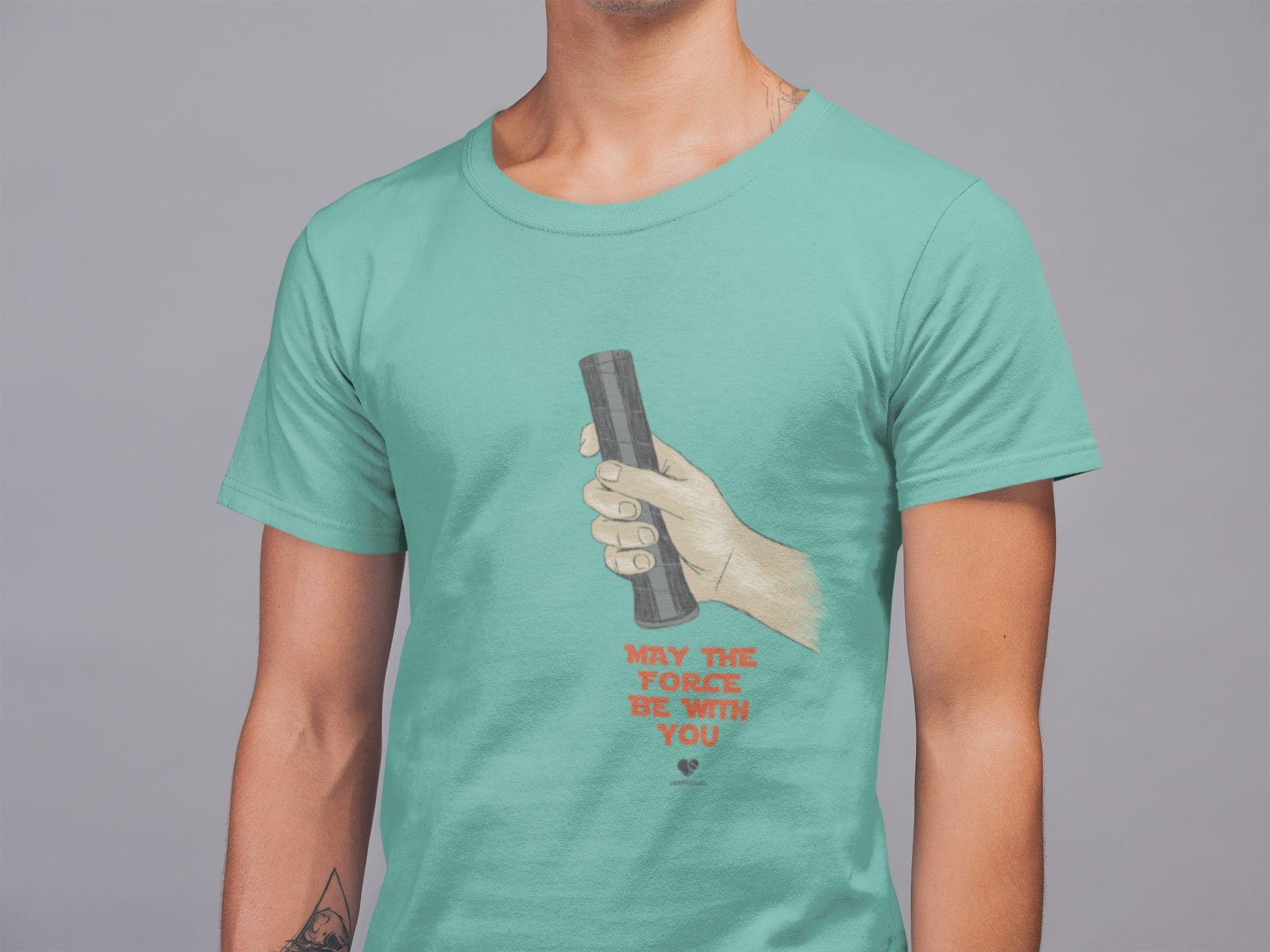 Camiseta THE FORCE  >> Coleção 2019 >> MASCULINA