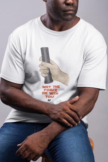 Camiseta THE FORCE  >> MASCULINA