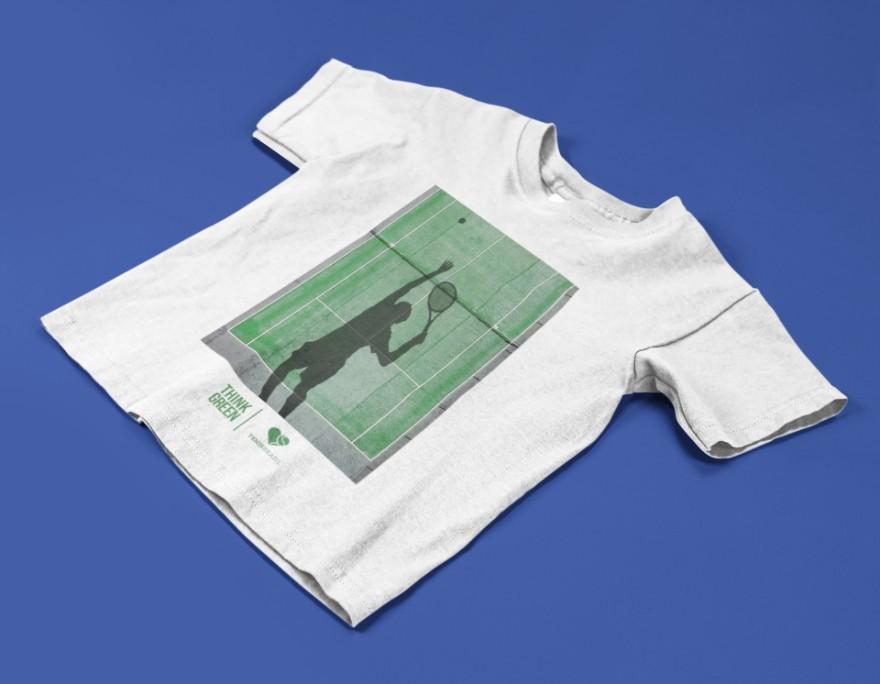 Camiseta THINK GREEN  >>  2 a 14 anos