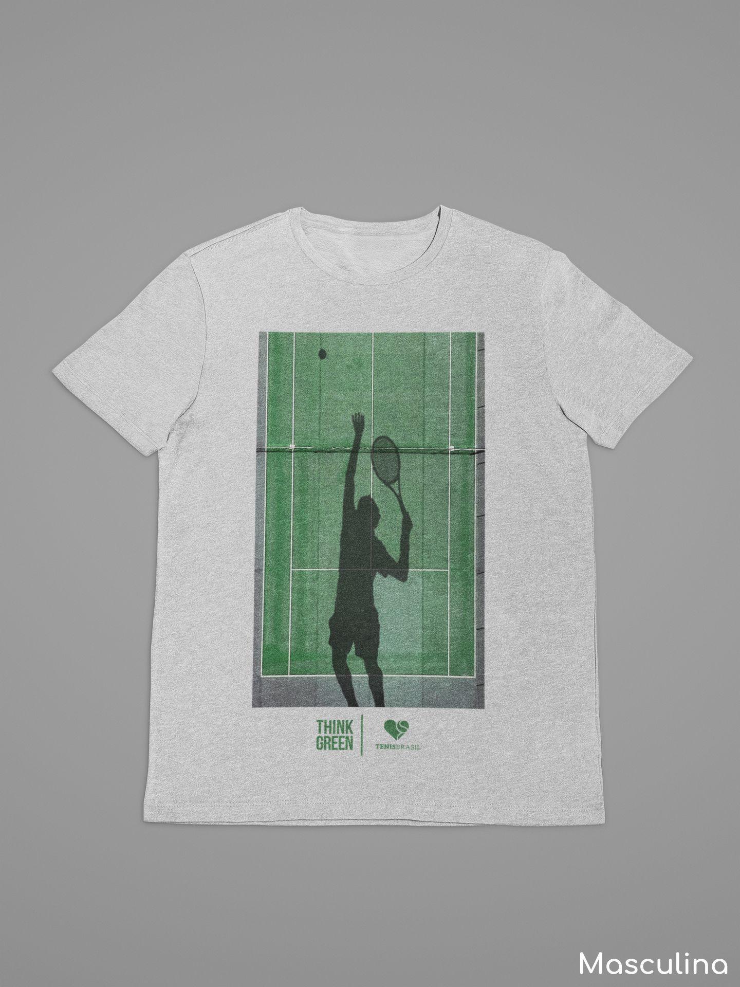 Camiseta THINK GREEN >> MASCULINA