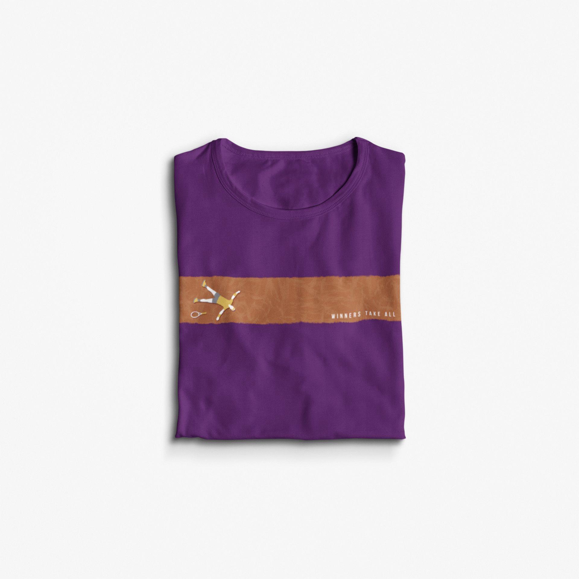 Camiseta WINNERS TAKE ALL >> Coleção 2019 >> FEMININA