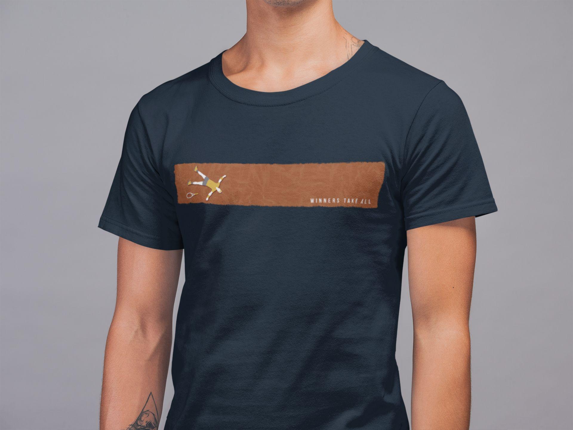 Camiseta WINNERS TAKE ALL >> Coleção 2019 >> MASCULINA