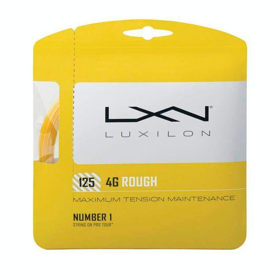 Cartela de Corda Luxilon 4G Rough