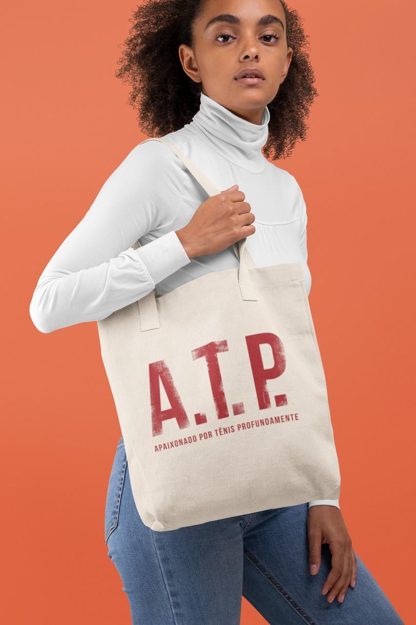 ECOBAG ATP - Apaixonado por Tênis Profundamente (V1)