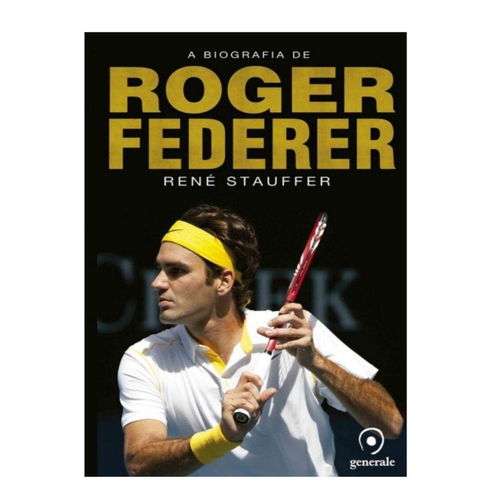 Livro A Biografia de Roger Federer