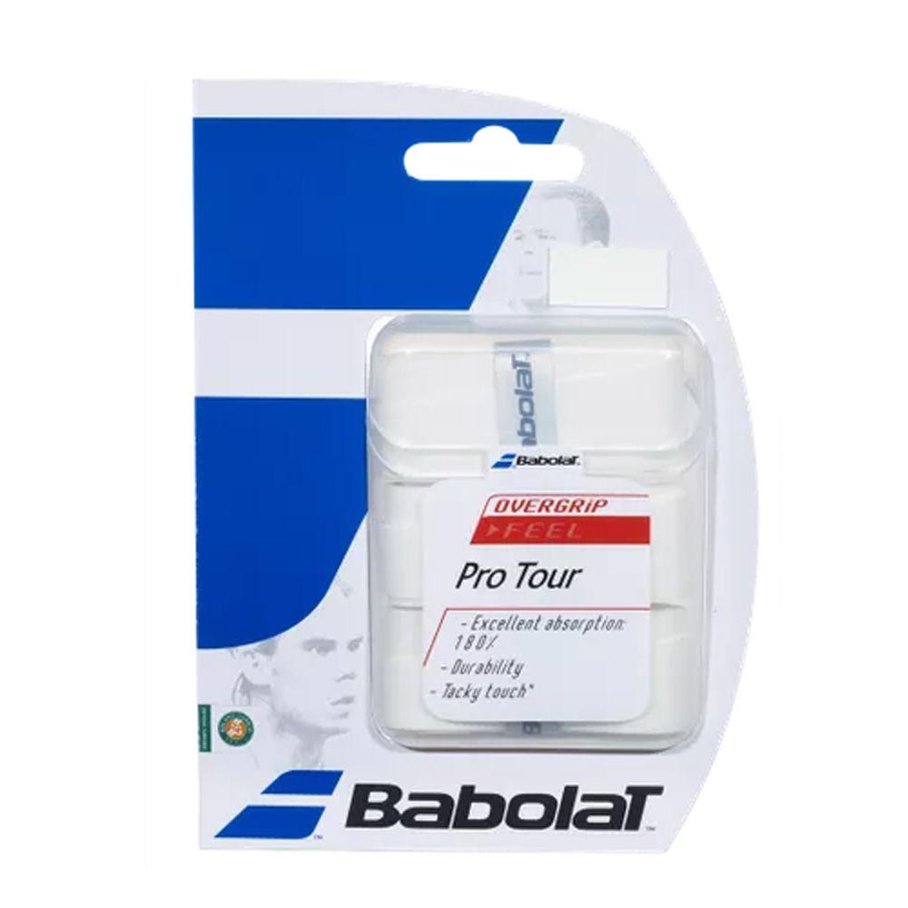 Overgrip Pro Tour Branco Babolat
