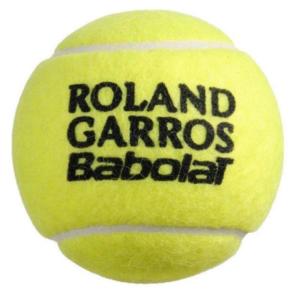 Bolas de Tênis Babolat Roland Garros All Court - Pack com 3 Tubos