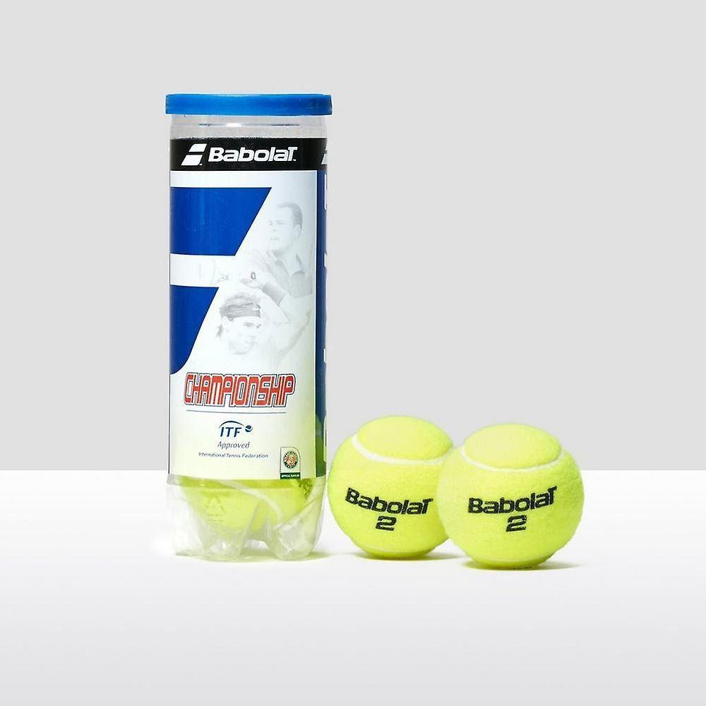 Bolas de Tênis Babolat Championship - Pack com 6 tubos