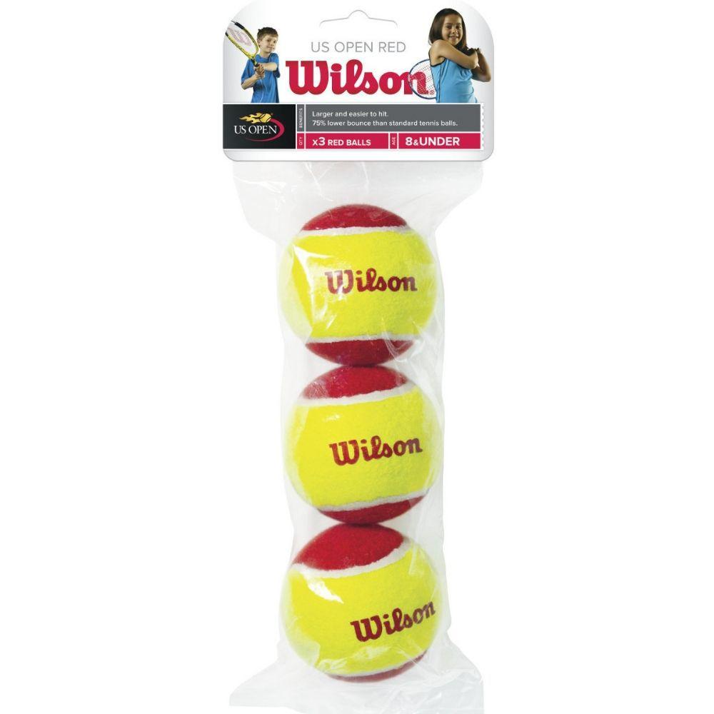 Pacote de Bolas de Tênis Wilson Starter Vermelha - Infantil