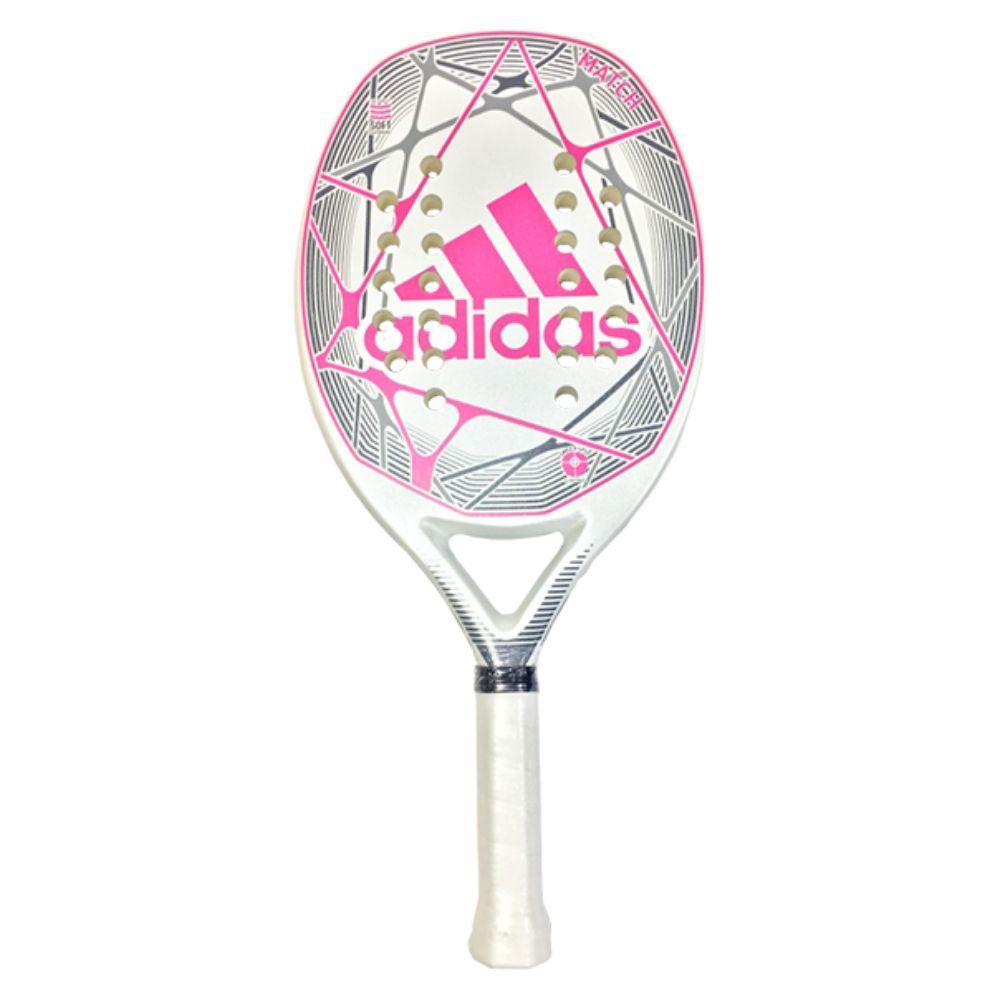 Raquete de Beach Tennis Adidas Match Branca/Rosa