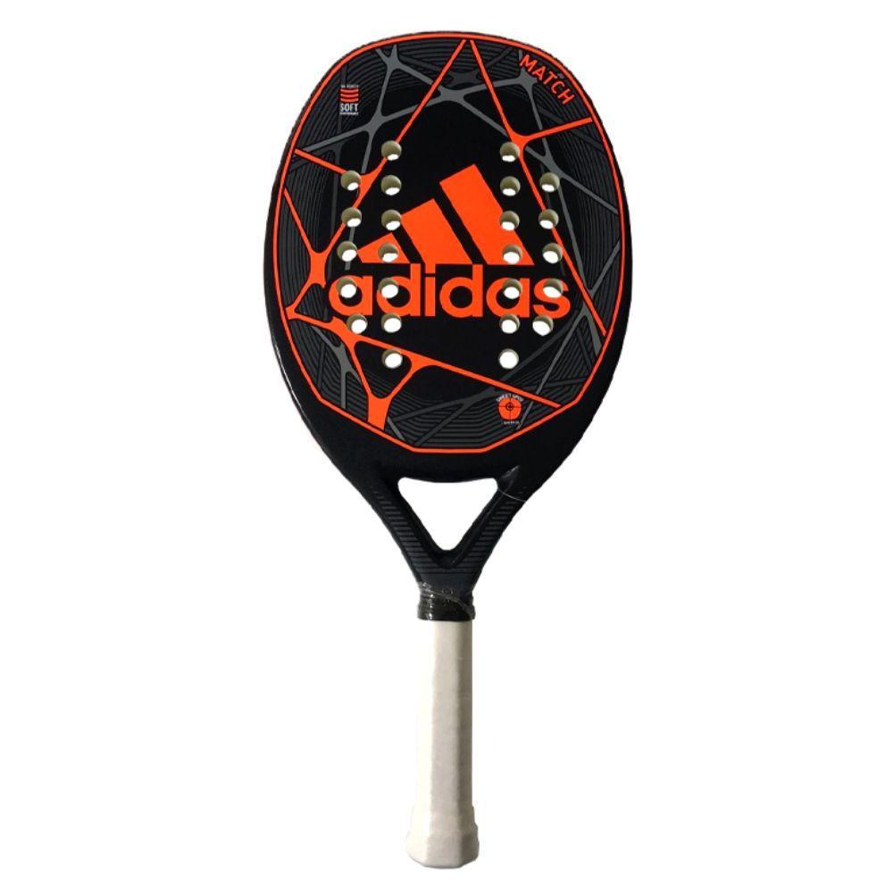 Raquete de Beach Tennis Adidas Match Laranja/Preta