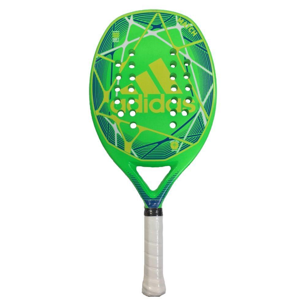 Raquete de Beach Tennis Adidas Match Verde/Amarela