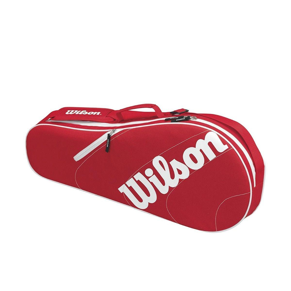 Raqueteira Wilson Advantage Team 3 Pack VM/BR