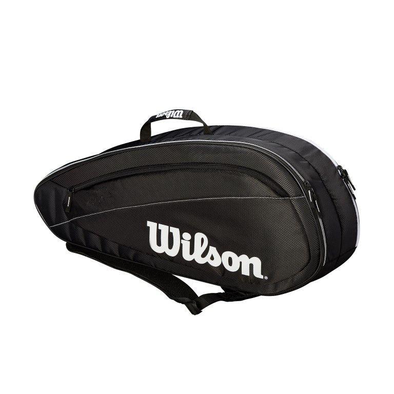 Raqueteira Wilson Federer Team 6 Pack PT/BR